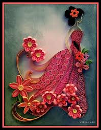 Quilling Designs | 25 beautiful quilling flower designs and paper quilling cards