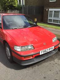 used 1989 honda crx crx coupe for sale in london pistonheads