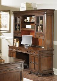 remington jr executive 4 piece home office executive set in brown