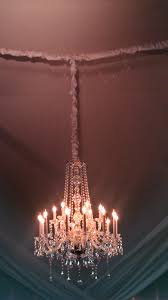 Chandelier Cover Chandelier Chain Cover Diy Shalavee