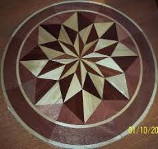 how to install hardwood floor medallions part 1