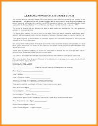 Durable Power Of Attorney Form by 8 Living Will And Power Of Attorney Forms Scholarship Letter