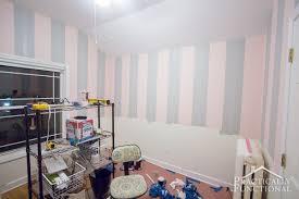 diy steampunk nursery part 1 painting the walls