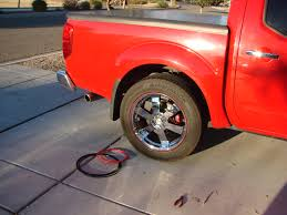 nissan frontier aftermarket wheels defend against alloy wheel curb rash with wheel bands installation