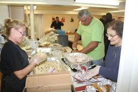 volunteers will serve up turkey thanksgiving day at church of the