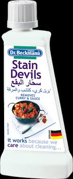 How To Remove Sauce Stains Sauce Upholstery And Dr Beckmann Stain Devils Curry And Sauces Removes Curry Stains Or