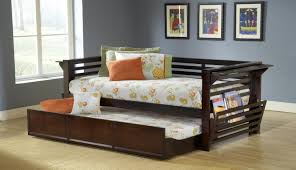 Twin Bed With Pull Out Bed Daybed High Trundle Twi Along With Storage Beds In Daybed
