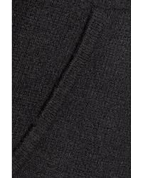 autumn cashmere distressed hooded cashmere sweater in black lyst