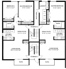 Apartment Building Floor Plans Personable Design Living Room And Building Plans Townhouses