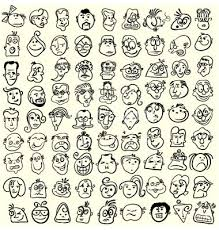 how to draw doodle faces 57 best doodles images on budist creative and
