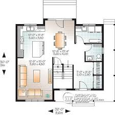 open floor plans with large kitchens house plan w3721 detail from drummondhouseplans com