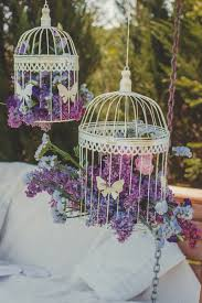 will bird cages forever play a role in wedding decor celebrity