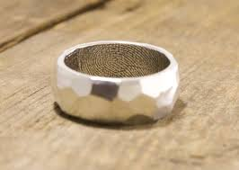 maine wedding band 52 best fingerprint wedding rings images on