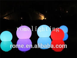 floating led pool lights round water floating l rgb floating led pool balls waterproof led