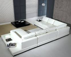 Modern White Leather Sofa Bed Sleeper White Modern Sofa Juniorderby Me