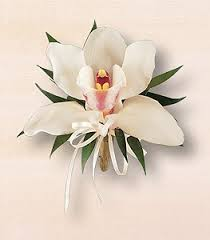 white orchid corsage barbara s floral corsages boutonnieres catalog