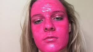 Meme Pink - woman warns after washable paint leaves pink stain 9honey