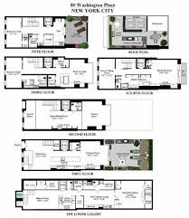 washington place new york floor plans plan for townhome