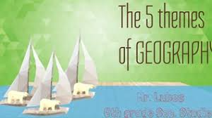5 themes of geography acronym the 5 themes of geography on emaze
