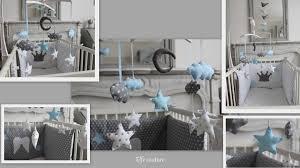 chambre bebe grise chambre bébé blanc et gris ciel enfant chevet coucher lit deco tons