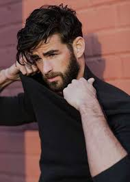 hair middle aged man dark male grooming perfection men s hair and beard love thelook men