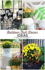 Outdoor Fall Decor Ideas - great ideas 10 colorful outdoor fall decor ideas