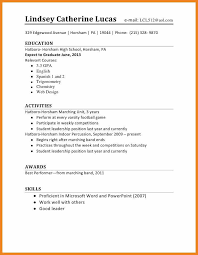 Resume Template For First Job Sample Resume For First Job No Experience Sample Resume And