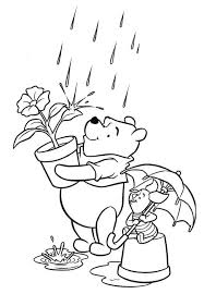 cartoons winnie pooh piglet color pages sheets jpg 485