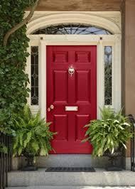 Exterior Door Color The Tangerine The Color Of The Front Door Shutters