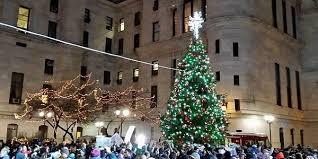holiday tree lighting city hall tree lighting ceremony