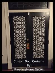 Door Window Curtains Small Black Designer French Door Curtains Curtain Patio Door
