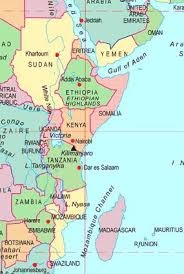africa map countries and capitals eastern africa capitals and countries abcplanet cheap