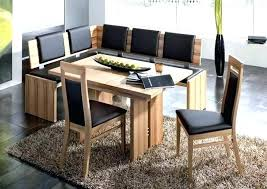 nook furniture set gorgeous space saving corner breakfast nook