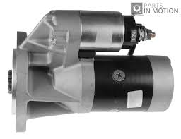 nissan elgrand accessories uk starter motor fits nissan cabstar f23 2 7d 00 to 04 td27 blue