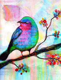 bird in tree paintings america