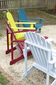 How To Spray Paint Patio Furniture To Spray Paint A Wooden Adirondack Chair