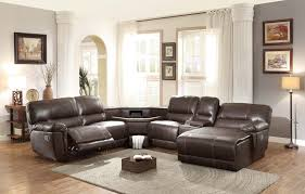 Sofas Recliners Sectional With Recliners At Both Ends Deltaqueenbook