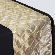 Gold Lace Table Runner Tablecloths Chair Covers Table Cloths Linens Runners Tablecloth