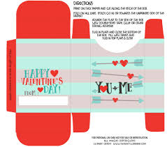 diy valentine box with free printable fill with goodies for