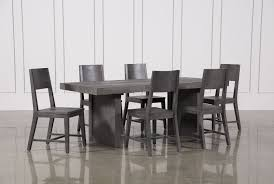 7pc Dining Room Sets Lucas 7 Piece Dining Set Living Spaces