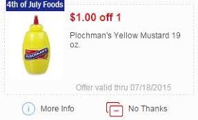 plochman s mustard 0 50 plochman s mustard at meijer more