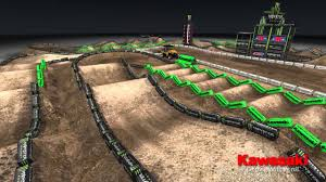 Road Atlanta Track Map by Supercross Live 2013 Minneapolis 4 13 13 Monster Energy