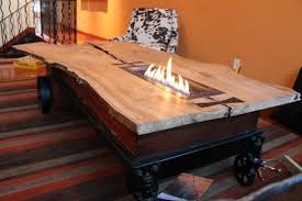 Fire Pit Coffee Table Coffee Tables Beautiful Sample Indoor Fire Pit Coffee Table