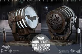 batman signal light projector dc comics john blake and jim gordon with bat signal collecti