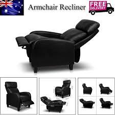 bã ro sofa faux pu leather recliner armchair lounge chair sofa reclining