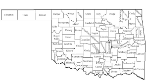 Haskell Map Oklahoma Map Of Counties My Blog