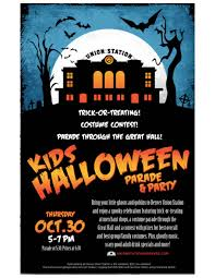 denver union station inaugural kids halloween parade and party