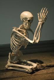 Skeleton Meme - praying skeleton blank template imgflip