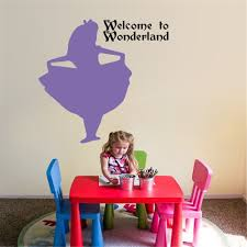 alice and wonderland home decor alice in wonderland silhouette promotion shop for promotional