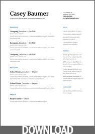 free resume templates docs 12 free microsoft office docx resume and cv templates